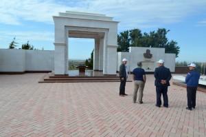 Denkmal für den Schriftsteller Dschingiz Ajtmatow
